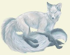 I know that it's not a fox.... but this is my favorite mythology creature ! Kitsune