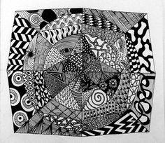 zentangle & mandala & patterns & ideas