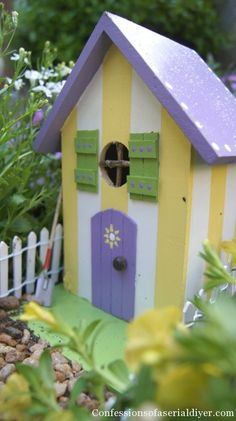 How about a fairy garden for Mother's Day? I made this for my MIL last year and she loved it!