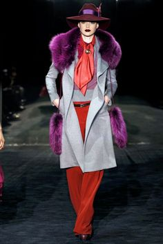 that purple is lovely...Love the coat!!!
