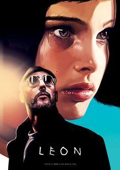 Leon: The Professional (1994) #Léon #alternativemovieposters