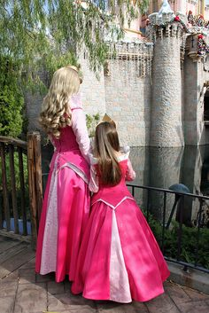 why is little Aurora's dress better than big Aurora's?