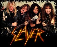 Slayer!! My favorite thrash metal band!