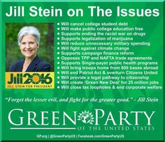 #OurRevolution #JillStein #GreenParty