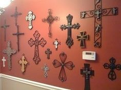 A Friend Posted This For Me Thank You Emily I Have My Wall Of Crosses At House Too