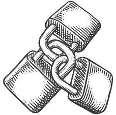 Hand-drawn vector sketch of three padlocks locked together. Padlock Tattoo, Chain Tattoo, Lock Drawing, Drawing Ideas List, Magazin Design, Vintage Art Prints, Calligraphy Letters, Free Vector Art, Op Art