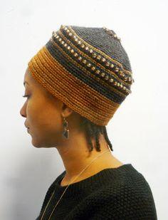 Just discovered this wonderful crochet artist! XENOBIA BAILEY'S ARTIST WORK JOURNAL: FUNKY CHIC, URBAN ELEGANT, WOOL, TAPESTRY CROCHET, UNISEX CROWNS BY INTERNATIONAL FIBER-ARTIST XENOBIA...