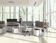 open office ideas. Plain Office Our New Height Adjustable Base Opens Up A World Of Design  Possibilities Find This Pin And More On Open Office Ideas  Inside N