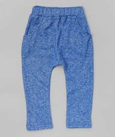 Leighton Alexander Heather Blue Jogger Pants - Infant, Toddler & Kids | zulily