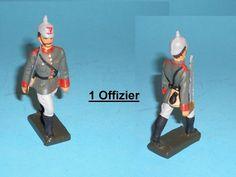 2638 – Lineol Preus. Offizier im Marsch Sehr Gut | eBay