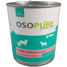 Artemis Osopure Grain-Free Canned Dog Food, 12 Ounces, Lamb in Gravy (12 Cans) - You can find out more about the great product at the image link. (This is an affiliate link and I receive a commission for the sales)