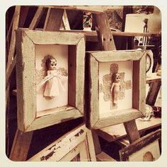 A gorgeous little Christmas to you all in Bondi... #dolls #atbondi #bondi #markets #cute #christmas #art #sydney