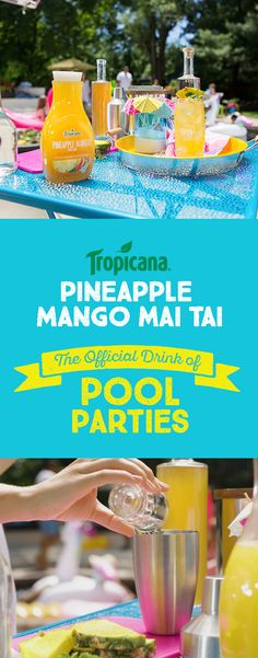 Grab the recipe now and add a little cocktail love to this summer's pool parties.