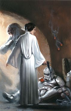 Star Wars: Princess Leia # 2 - Mile High Comics Variant - Cover Art by Gabriele Dell'Otto
