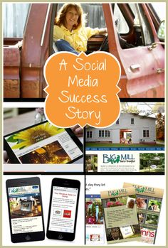 Great social media success story of Chloe Tuttle's farm Bed and Breakfast, Big Mill B+B. From Chloe's Blog to Facebook custom apps, to Pinterest and Google+, read more about her 7-year adventure on social media and follow her where it leads next. | http://visualpop101.com/bed-breakfast-social-media-case-study/
