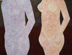 "Saatchi Art Artist Tomasz Kruzel; Painting, ""Virgo from the series of 12 Zodiac Signs"" #art"