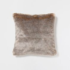 GRAY FUR PILLOW - Decorative Pillows - Decor and pillows | Zara Home United States