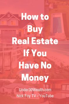 Real estate investing tips for beginners, how to buy real estate, no money down investing, wholesaling, landlord tips, flipping houses, rental property, real estate strategies, realtor, how to invest, money #realestate #realestateinvesting #wholesaling #millionaire #howtogetrich #personalfinance