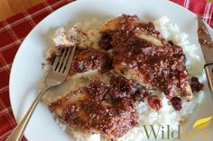 Wildtree's Baked Cranberry Chicken Recipe