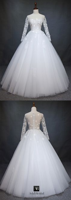 Fascinating Tulle Scoop Neckline A-line Wedding Dress With Beaded Lace Appliques