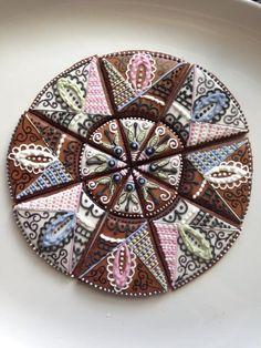 Mandala Cookie Platter by Hoosier Sugar Cookies   Cookie Connection