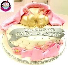 Baby Butt Baby Shower cake