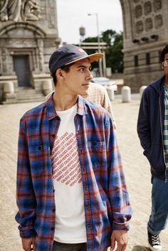 Stapleford Parker Plaid Flannel Button-Down Shirt