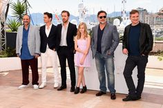 "Russell Crowe Photos - (L-R) Producer Joel Silver, actors Matt Bomer, Ryan Gosling, Angourie Rice, Russell Crowe and director Shane Black attend ""The Nice Guys"" photocall during the 69th annual Cannes Film Festival at the Palais des Festivals on May 15, 2016 in Cannes, France. - 'The Nice Guys' Photocall - The 69th Annual Cannes Film Festival"