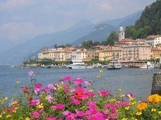 From the hillsides to Lake Como, Italy....   #ridecolorfully #katespadeny #vespa