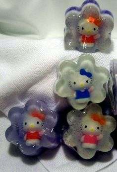 hello kitty soap by lovesoapsbyflor on Etsy, $6.00