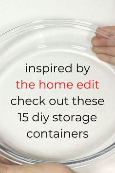 Check out these ideas for how to make your own storage containers from cardboard, dollar tree items and plastic containers. The organizers will help you organize your bathroom, kitchen, fridge and pantry. #hometalk Diy Storage Containers, Diy Storage Boxes, Plastic Containers, Storage Ideas, Make Your Own, Make It Yourself, The Home Edit, Diy Organization, Getting Organized