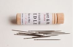 Plastic Free Sewing. Lots of great links to fabrics, wooden spool thread and more.