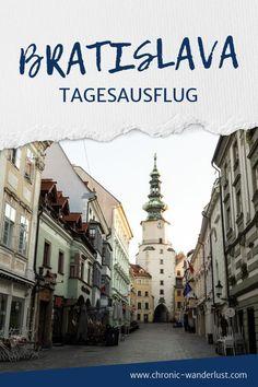 Ein perfekter Tag in Bratislava - aber wo starten? Hier verrate ich dir meine Tipps für einen Tagesausflug in die slowakische Hauptstadt.   #Bratislava #Slowakei #Tagestrip #Reisen Bratislava, Wanderlust, Reisen In Europa, Street View, Traveling Europe, Europe Travel Tips, Adventure Tours, Day Trips, Croatia
