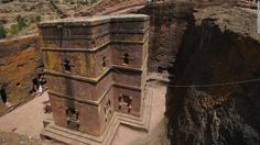 In the rugged mountains of northern Ethiopia, Lalibela is a religious center that's home to 11 famous rock-hewn churches. Click for CNN article, and more great photos are here: whc.unesco.org/en/list/18/