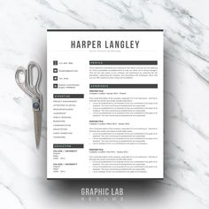 References Sheet Template Captivating Resume Templates & Design  Resumecv Creativework247 Fonts Graphics .