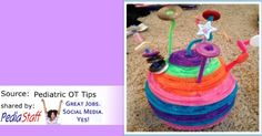 pDIY Cat Toy: A Fun Craft for Kids!- pinned by @PediaStaff – Please Visit ht.ly/63sNtfor all our pediatric therapy pins