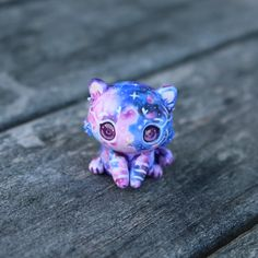 Shine Bright Galaxy Tiger Cub by TheLittleMew on Etsy