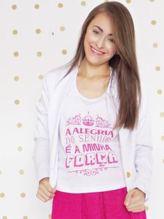 No Blog > http://www.byanak.com.br/2016/05/look-peace-alegria-do-senhor-e-minha_10.html  #skirt #blazer #tshirt #Jesus #saia #blusa #blog #AnaKarla #estilo #fashion #blogger