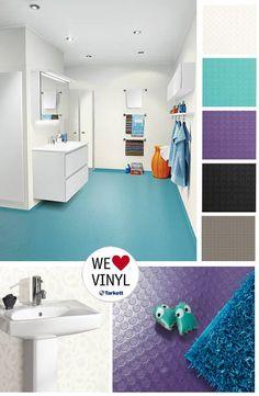 Vinyl instead of tiles for the bathroom floor?