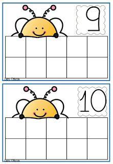 Nesta atividades é pedido para que o aluno coloque as quantidades de tampinhas necessárias de acordo com o número sugerido!!! ...