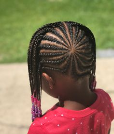 Here we have another delicate box braids kids hairstyle idea for you. This hairstyle is the little b. Box Braids Hairstyles, French Braid Hairstyles, Kids Braided Hairstyles, Little Girl Hairstyles, African Hairstyles, Hairstyles Haircuts, Cool Hairstyles, Kids Hairstyle, Black Hairstyles
