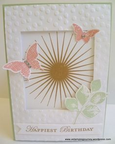 I know I said I would post about my swaps I received and this is the second post today and still no swap photos. I am getting there but I just had to show you this card I made yesterday. I was r...