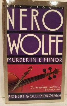 Up for consideration is the book Nero Wolfe& Murder in E Minor by Robert Goldsborough. Printing Paperback, The book is in good condition. I found no markings inside this book. The binding and pages are still tight. Chicago Sun Times, Youre The One, Mass Market, Consideration, The Book, Printing, Ebay, Typography