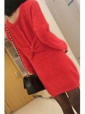 Korean Style Pure Color Pucket Warp Knit Dress Red US$ 14.99 http://www.global-wholesale.net/Korean-Style-Pure-Color-Pucket-Warp-Knit-Dress-Red_g33147.html