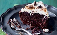 Cappuccino brownie cake