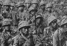 Japanese Soldiers in New Guinea