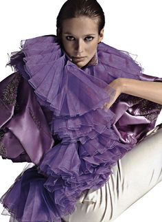 2005   Marie Steis by Gilles Bensimon   Christian Lacroix | Fall 2005 Couture