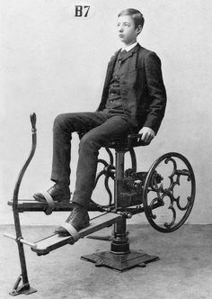"""vintage everyday: 21 Fascinating Photos Show The """"World's First Fitness Machines"""" Used in the 1890s"""