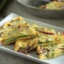 Asparagus and Balsamic Onion Frittata - www.countrycleaver.com