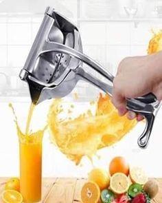 Fruit And Vegetable Juicer, Fruit Juicer, Citrus Juicer, Hand Juicer, Manual Juicer, Café Chocolate, Grenade, Cool Kitchen Gadgets, Kitchen Tools